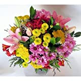 REGALAUNAFLOR-Ramo de flores variadas-FLORES NATURALES-ENTREGA EN 24 HORAS DE LUNES A SABADO.
