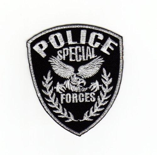 Parche plancha de planchar Iron on Uniforme de la aplicación de parches US Police Special Forces de Insignia de policía de