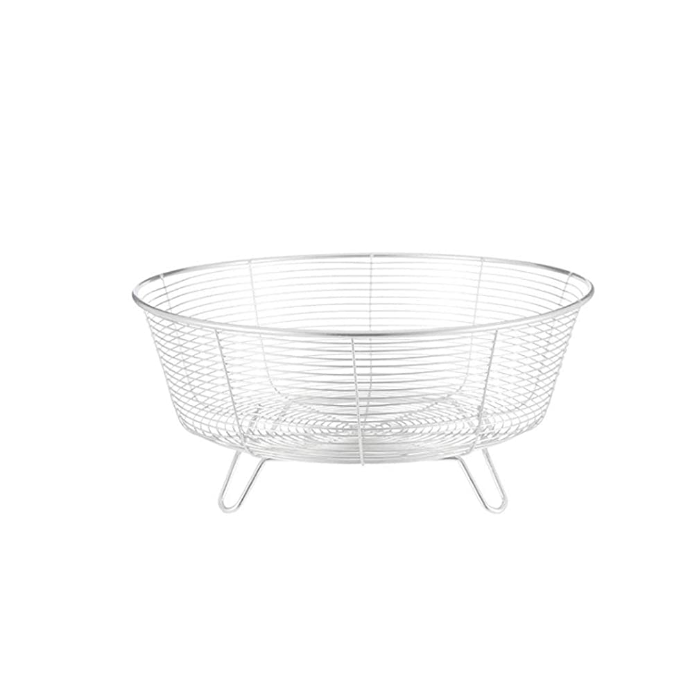 HY Stainless Steel Fruit Basket Living Room Fruit Bowl Washing Basket Modern Minimalist