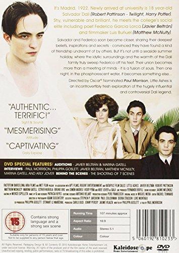 Little Ashes [DVD] [Edizione: Regno Unito]