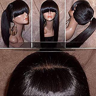 ponytail with front bangs