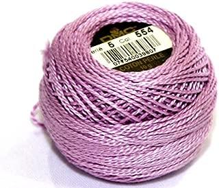 DMC Cotton Perle Thread Size 5 554 - per 10 gram ball