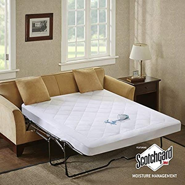 Rabinyod Bulan Sofa Bed Mattress Pad Pull Out Padded Waterproof Sleeper Full Couch Futon Guest