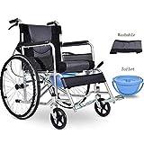 Z-SEAT Rollstühle Selbstfahrend, tragbare Transit Travel Tragbare Multifunktion, manuelle...