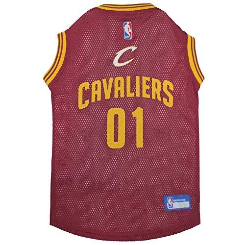 NBA CLEVELAND CAVALIERS DOG Jersey, Small - Tank Top Basketball Pet Jersey