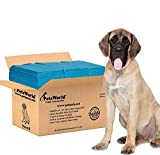 PETSWORLD Mastiff's Massive Training Giant Pads, 28x44 inch, 50Ct, XXXL Gigantic, Tear Resistant, Super Absorbent Polymer, Extremely Strong Leak-Proof