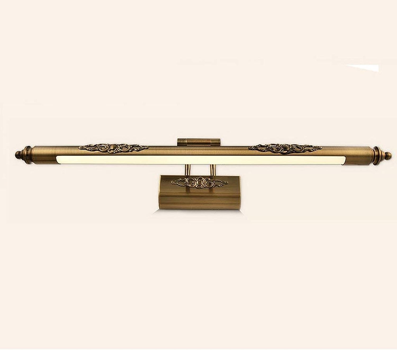JU Spiegel-Licht-European-Style Retro-Spiegel-Scheinwerfer-Badezimmer-geführte Spiegel-Lampen-Badezimmer-Einfache Make-uplampen B07G77P6VZ | Schön  Schön  Schön  dc0da0