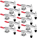 Chfine Hold Down Toggle Clamps Latch Antislip Red Hand Tool Holding Capacity Antislip Hori...