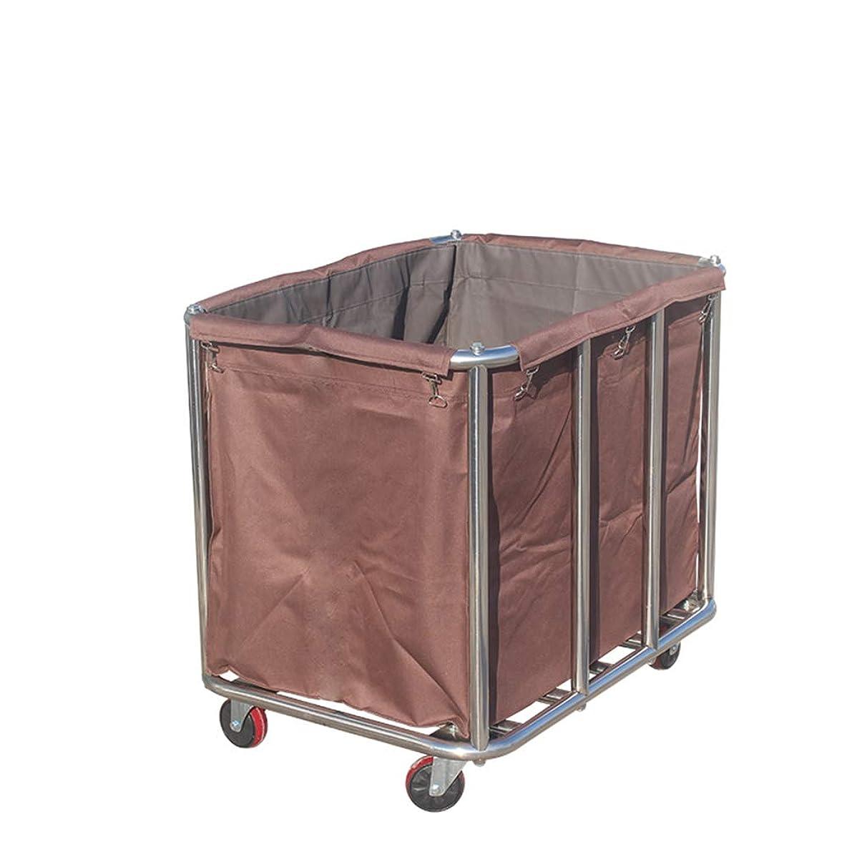 助言生産的作者ステンレス鋼ホテルカート収納カートランドリーホテルクリーニングカートサービス車