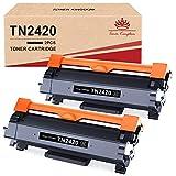 Toner Kingdom TN2420 Cartucho Toner Compatible para Brother TN2420 TN2410 para Brother MFC-L2710DW HL-L2350DW DCP-L2530DW HL-L2310D HL-L2370DN HL-L2375DW MFC-L2710DN MFC-L2730DW MFC-L2750DW DCP-L2510D
