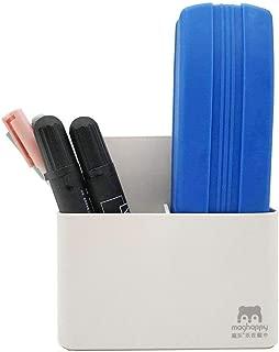 Goblin's Treasures Magnetic Dry Erase Marker Holder, Magnetic Pen Holder Whiteboard Pen Holder Dry Erase Marker and Eraser Organizer,Powerful Neodymium Magnets