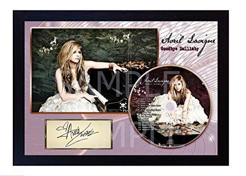 SGH SERVICES Avril Lavigne Goodbye Lullaby signiertes Foto, Nachdruck auf CD