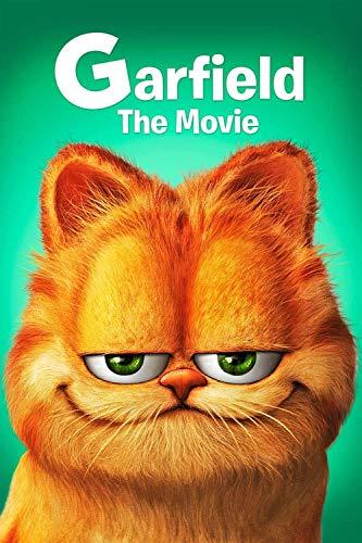 IUWAN Jigsaw Puzzle Garfield Movie Posters 1000 Piezas Divertidos Rompecabezas de Papel para Adultos 1000 Piezas Amigos y Familiares 38 * 26 cm