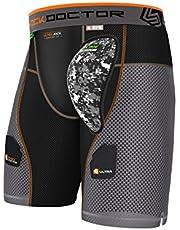 Shock Doctor Aircore Ultra Powerstride - Pantalones Cortos de Hockey Hombre