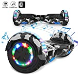 Markboard Hoverboard Bluetooth 6.5 Pouces, Gyropode Overboard Smart Scooter (camouflage)