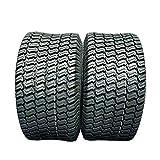 MOTOOS Set of 2 18x8.50-8 Lawn Mower Turf Tires 4PR 18x8.50x8 Golf Cart Garden Tubeless Tires P332