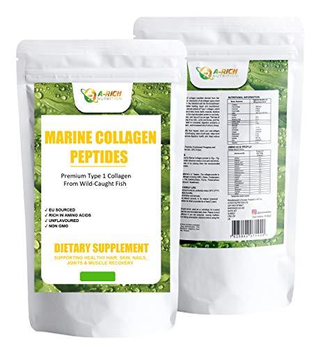Marine Collagen Peptides Powder Type 1 Anti Aging, Wrinkles, Beauty Powder 50g, 200g, 250g, 300g, 400g, 1000g (50g)