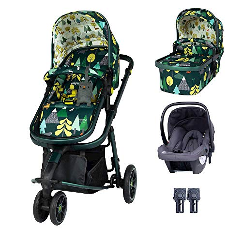 Cosatto Giggle 3 Travel System Bundle - with Hold Car Seat Into The Wild