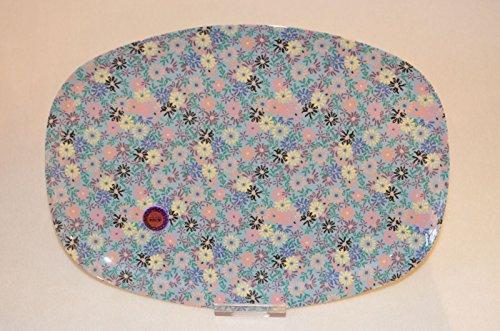 Rice Servierplatte aus Melamin mit Small Flower Print