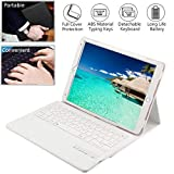 Wineecy iPad PRO 10.5 QWERTY Bluetooth Tastiera, Premium PU Custodia Protettiva in Pelle con Wireless Staccabile Bluetooth...
