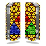 Decal Sticker Skin WRAP Triforce Gold for Pioneer4you iPV Mini 2 70W