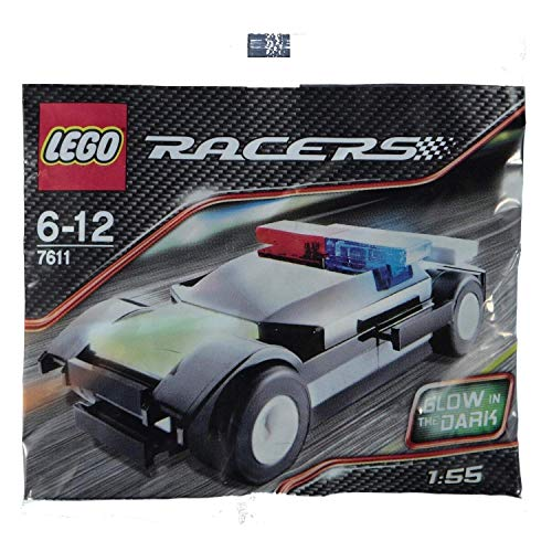LEGO Polybag 7611 Racers Glow In The Dark Police Car