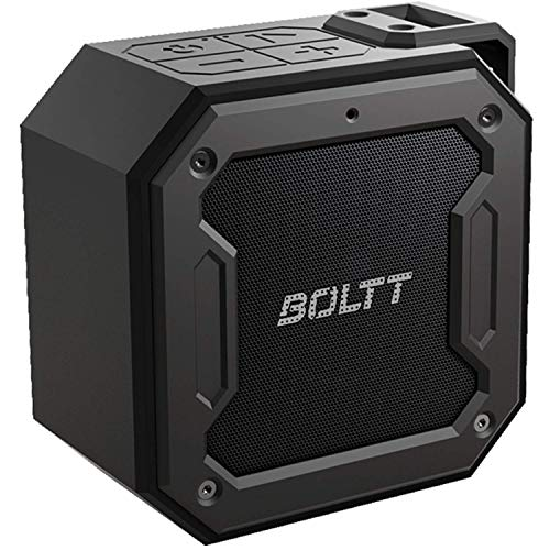 Fire-Boltt Xplode 1200 Portable Bluetooth 12W Speaker with Boombastic HD Sound & Punch Bass, Durable, Rugged & Waterproof with Long Lasting Playtime & 1800mAh Battery. (Black)
