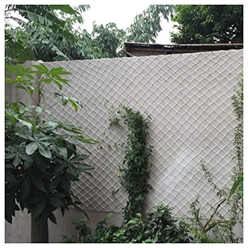 HanYu Red de seguridad para exteriores para decoración de jardín, parque infantil, red de seguridad para gatos, tamaño: 15 cm, 6 mm de grosor de la cuerda (tamaño: 6 x 10 m, color: blanco)