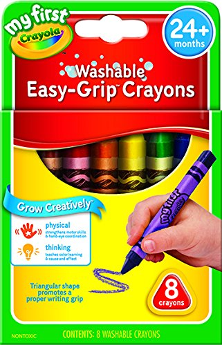 Crayola My First Crayola Triangular Crayons 8ct