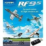 MALTA - HORIZON リアルフライト9.5 S-FHSS対応USBレシーバー付属 RCフライトシミュレーター Real Flight 9.5 / RF9.5-WSC1