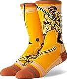 Stance Star Wars Jedi - Calcetines, color amarillo Amarillo amarillo 36/39 EU