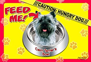Cairn Terrier 17 x 11-1/2 2-Sided Placemat / Dishmat