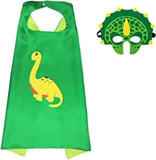 Dinosaur Halloween Custome Cosplay Cape with Mask for Boys Kids Girls Toddlers