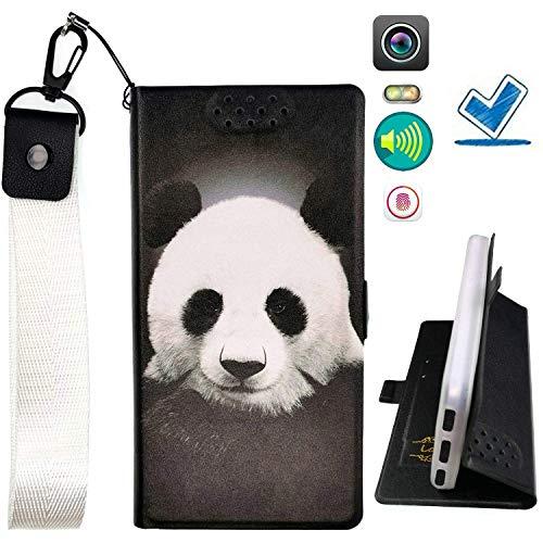 Custodia per Microsoft Nokia Lumia 540 Dual Sim Custodia Flip in Pelle PU + Cover Case in Silicone Fissa Protezione PTXM ITHYJ