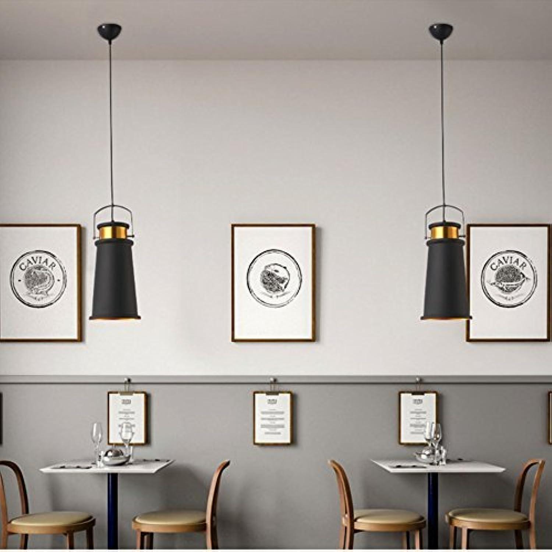 CTO William 337 Industrial Chandelier E27 Edison vor dem schwarz Liner Gold Chandelier Decke Küche Esszimmer Wohnzimmer Esszimmer [Energie a +] (Stil  D)