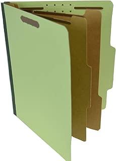 SJ Paper Recycled 2-Divider Classification Folders (SJPS61901)