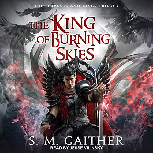The King of Burning Skies Titelbild