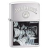 ZIPPO(ジッポー) Jack Daniel's Lighters ( ジャック ダニエル ライター) 日本未発売 Brushed Chrome Series 6 [並行輸入品]