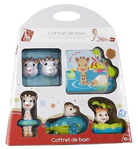 Vulli 516336 - Malla para juguetes de baño, diseño de Sophie la jirafa