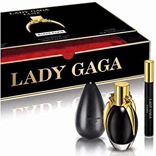 Lady Gaga Fame Black Fluid Perfume Eau De Parfum 1.7 OZ spray gift set