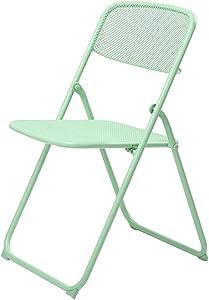 Klappstühle Portable Esszimmerstuhl Wohnzimmer Balkon Liegestuhl Einfache Portable Stuhl Grid Stuhl, Indoor und Outdoor Dual-Use