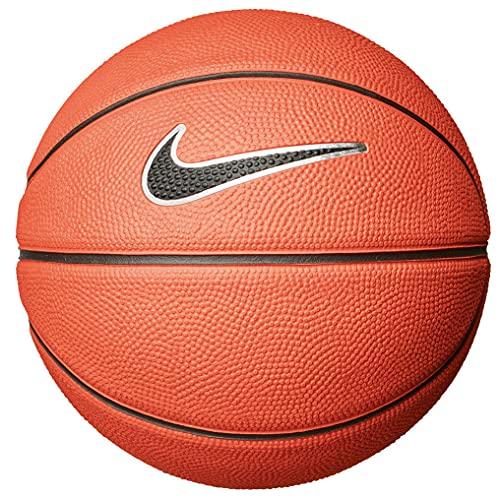 Nike Swoosh Skills Basketball Mini Ball (3, Amber/Black)