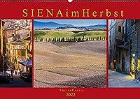 Siena im Herbst (Wandkalender 2022 DIN A2 quer): Zwischensaison in der Toskana (Monatskalender, 14 Seiten )