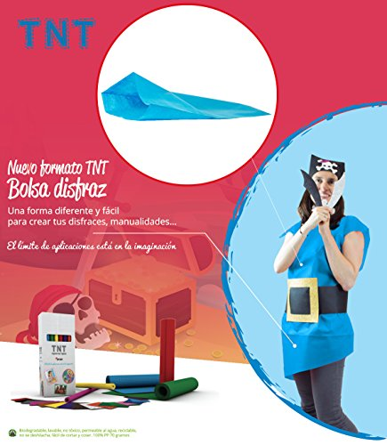 Pryse 5075150 - Pack de 25 bolsas para disfraz, 65 x 90 cm, Color Azul