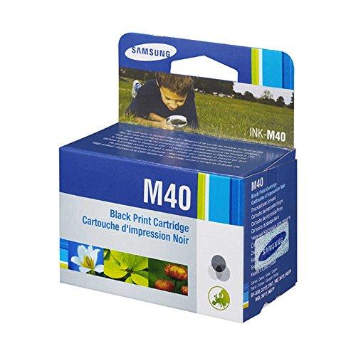 Samsung Ink M40 (M-40 M 40) Cartucho de Tinta Negro Fax Para SF330 SF340 Sf335T Sf345Tp Sf-330 Sf-335T Sf-340 Sf-345TP ⭐