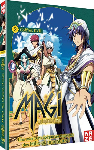 Magi-The Labyrinth of Magic-Box 2/2