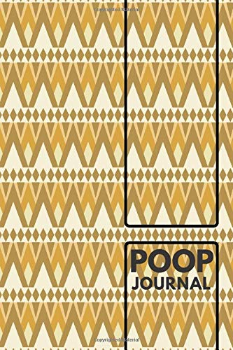 """Poop Journal: Daily Bowel Movement Tracker, Poo Log, Poop Journal, Bristol Type Chart, Health Status Tracker, Stool Log Journal, Gifts for Men, Women, ... x 9"""" with 110 Pages. (Stool Journal, Band 44)"""