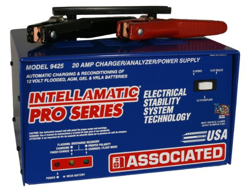 Associated Equipment 9425 Intellamatic III 12V 20 Amp Portable Charger