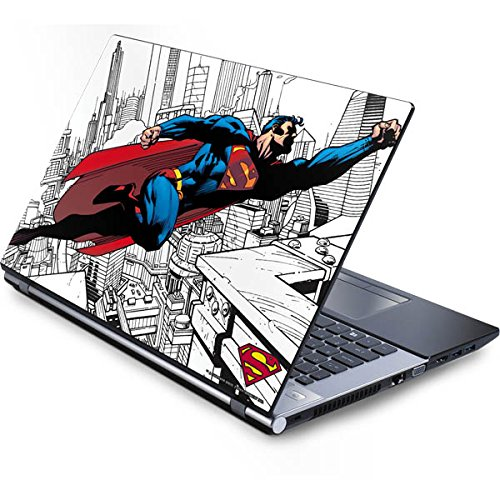 Skinit Decal Laptop Skin for Generic 16in Laptop - Officially Licensed Warner Bros Flying Superman Design