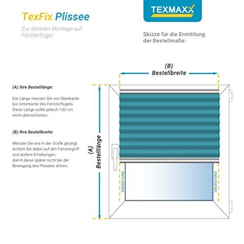 Plissee Weiß TEXMAXX - 7